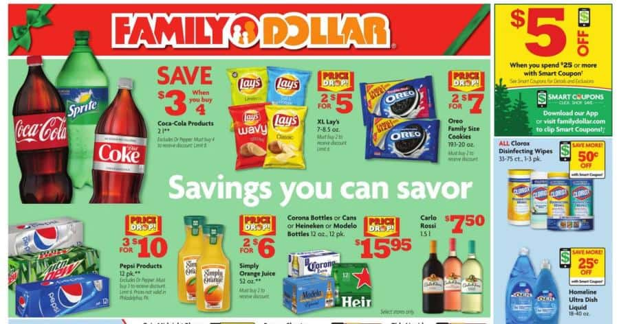 Family Dollar ad this week