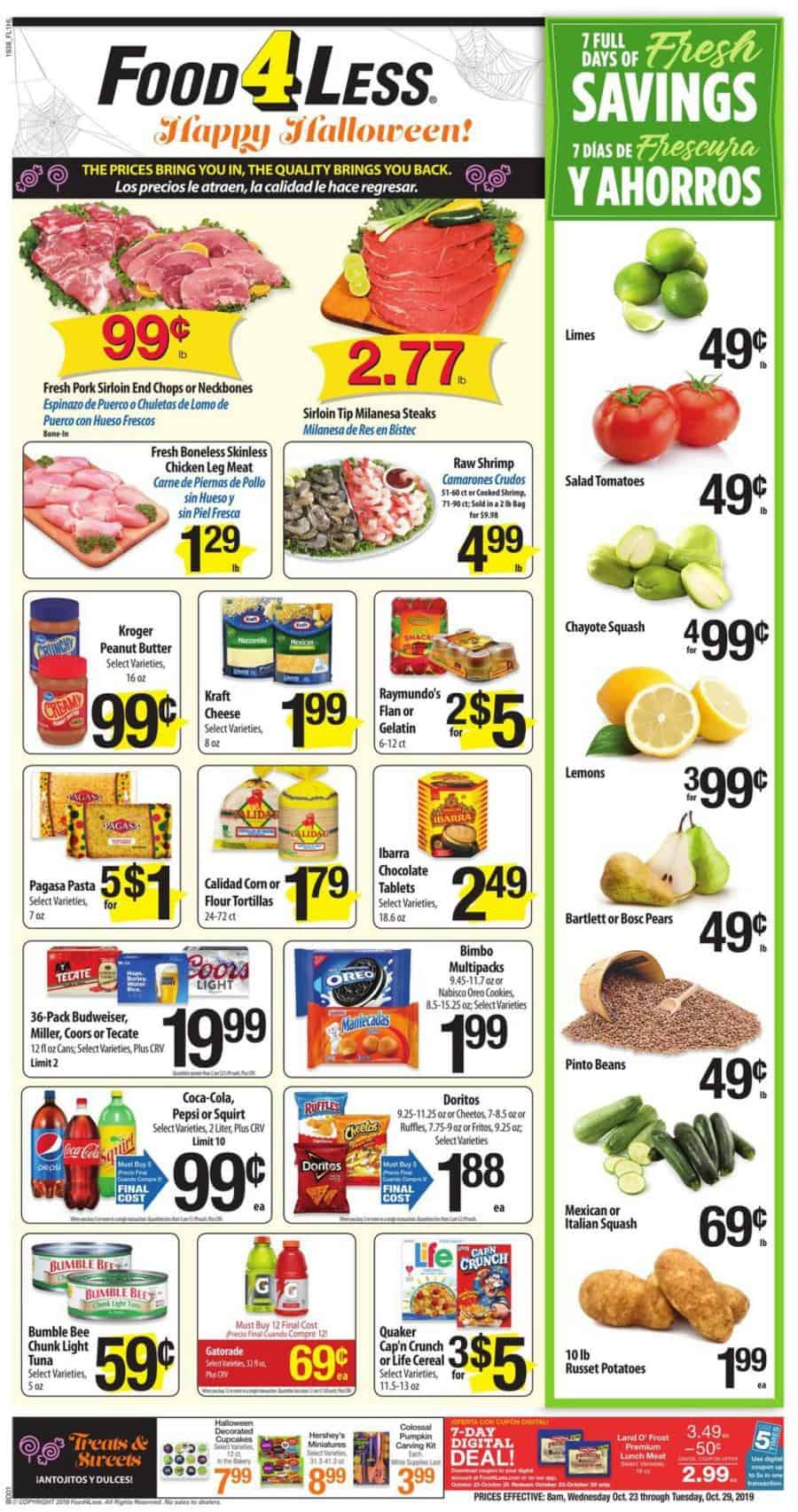 Food 4 Less ad this week