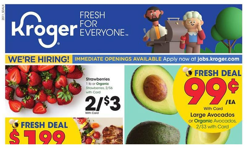 Kroger ad this week