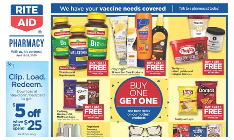 Rite Aid ad this week