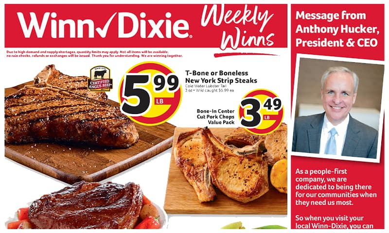 Winn-Dixie ad this week